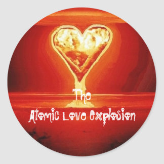 Atomic Love Explosion stickers
