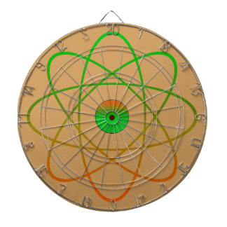 Atomic Metal Cage Dartboard,Tan Dartboard