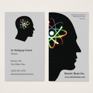 Atomic Mind | Scientist Business Card