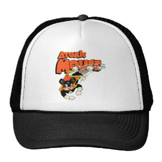 Atomic Mouse cute cartoon art superhero Cap