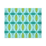 Atomic Ogee & Starbursts Canvas Wall Art