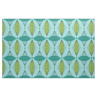 Atomic Ogee & Starbursts Cotton Fabric