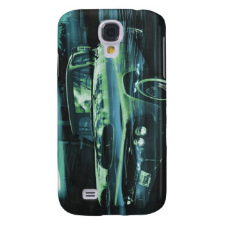 Atomic Old Timer bluer Galaxy S4 Case