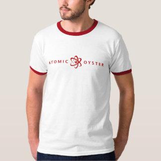 Atomic Oyster (alternate logo) ringer T-Shirt