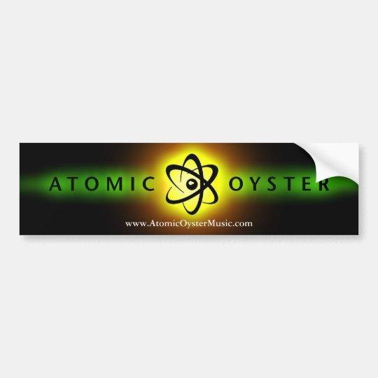 "Atomic Oyster ""glowing logo"" bumper sticker"