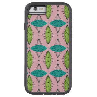 Atomic Pink Ogee & Starburst iPhone 6/6S Case