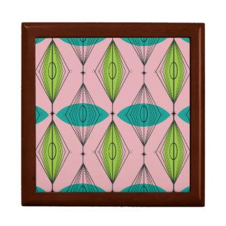 Atomic Pink Ogee & Starburst Tile Gift Box