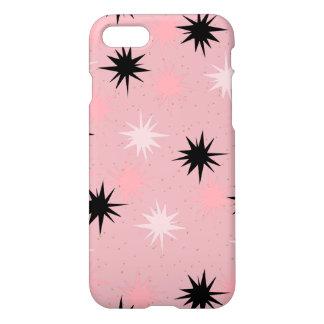 Atomic Pink Starbursts iPhone 7 Case