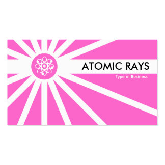 Atomic Rays - Pink Pack Of Standard Business Cards