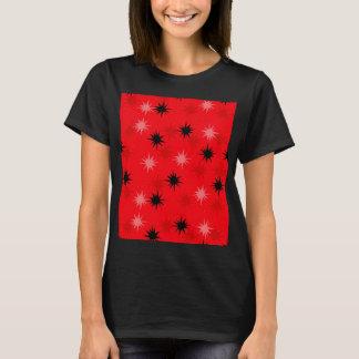Atomic Red Starbursts T-Shirt