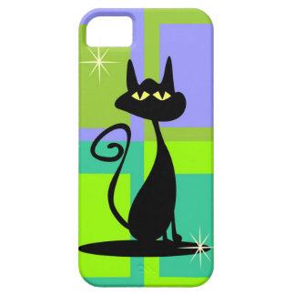 Atomic Retro Kitty Iphone 5 Cover