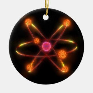 Atomic Round Ceramic Decoration