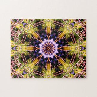 Atomic Science Mandala Jigsaw Puzzle