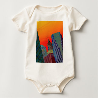 Atomic Skyline Baby Bodysuit