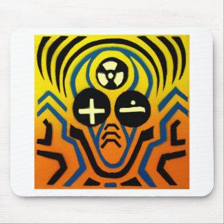 Atomic sound wave man mouse pad