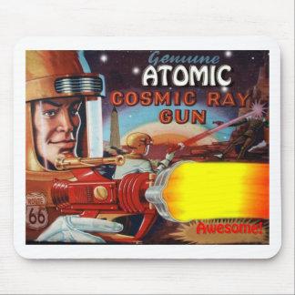 atomic space man ray gun mouse mat