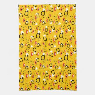 Atomic Spiders Tea Towel