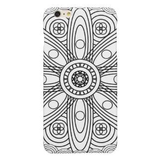 Atomic Structures Mandala iPhone 6 Plus Case