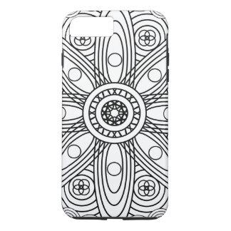 Atomic Structures Mandala iPhone 7 Plus Case