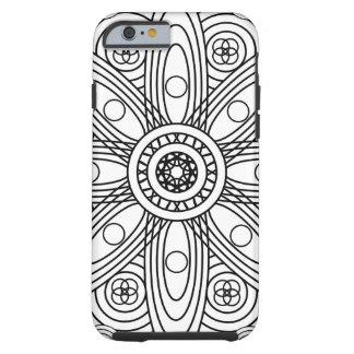 Atomic Structures Mandala Tough iPhone 6 Case