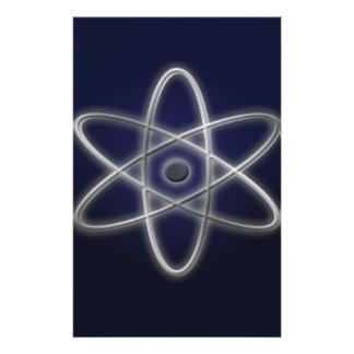 Atomic Symbol Stationery Design