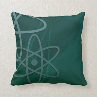 Atomic Teal Pillows