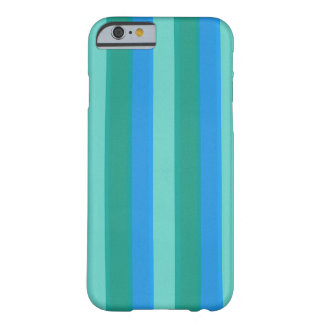 Atomic Teal & Turquoise Stripes iPhone iPad Case
