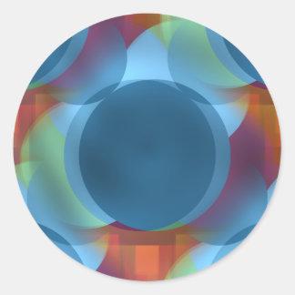 Atomic Tonic Round Sticker