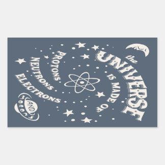 Atomic Universe Morons Sticker