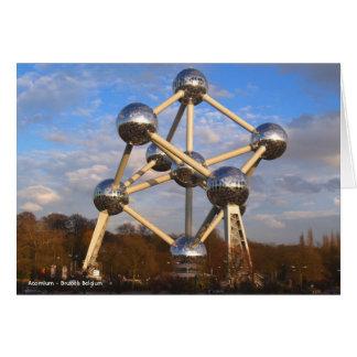 Atomium - Brussels Belgium Note Card