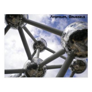 Atomium, Brussels Postcard
