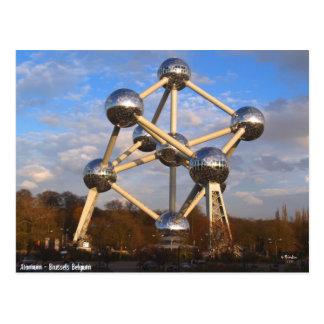 Atomium Post Card