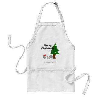 atoms cup design christmas, Merry Christmas, co... Standard Apron