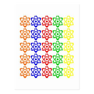Atoms Postcard
