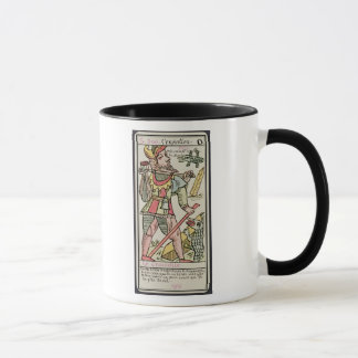 Atonement, tarot card, French Mug