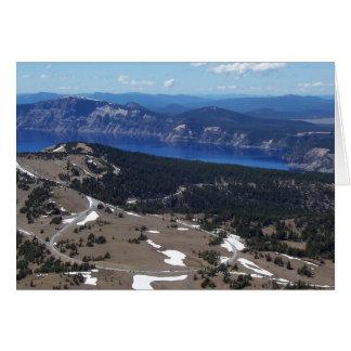 Atop Mount Scott Note Card