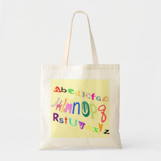 AtoZ tote Tote Bags