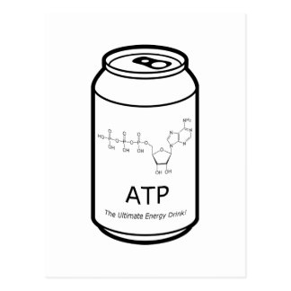 ATP Energy Drink Postcard