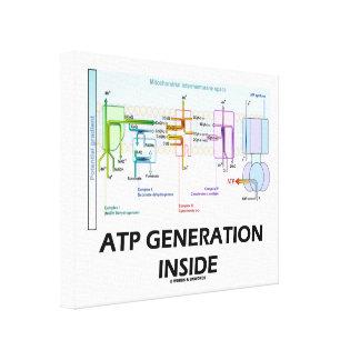 ATP Generation Inside Electron Transport Chain Canvas Print