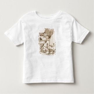 Atrium of a Palace, in Genes, from 'Art and Indust Toddler T-Shirt