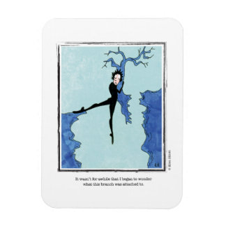 ATTACHED cartoon by Ellen Elliott Rectangular Photo Magnet