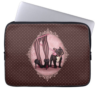 Attached to my French Bulldog Laptop Sleeve