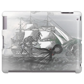 Attack by Giant Octopus iPad Case