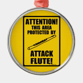 Attack Flute Christmas Ornaments