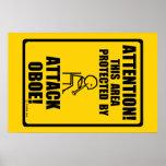 Attack Oboe Poster