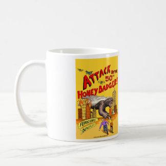 Attack of the 50ft Honey Badger!  Mug