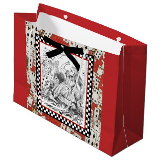 Attack of the Cards 1 Large Gift Bag