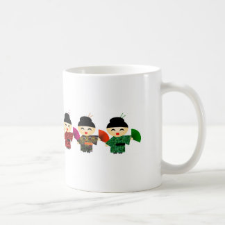 Attack of the Geisha Dolls Basic White Mug