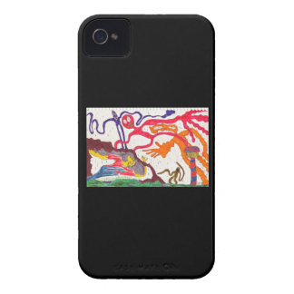 Attack of the Gummy People! iPhone 4 Cases