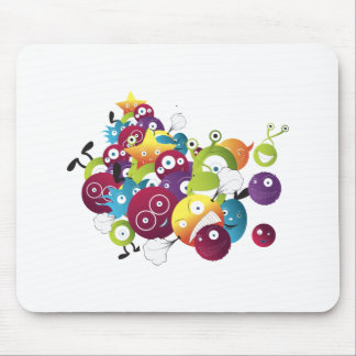 attack of the monster balls mouse pads